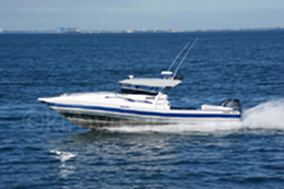 10m Naiad recreational vessel