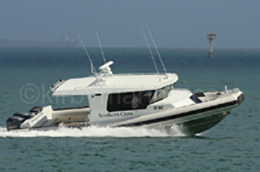 11.3m Naiad recreational vessel
