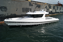 13m Naiad recreational vessel