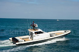 14m Naiad recreational vessel