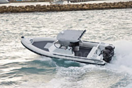 9m Naiad recreational fishing boat