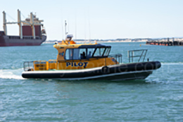 11.3m Naiad pilot vessel Bunbury Port