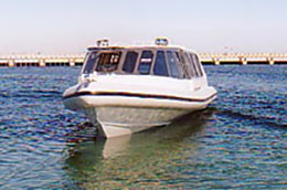 12.6m Naiad water taxi Indonesia